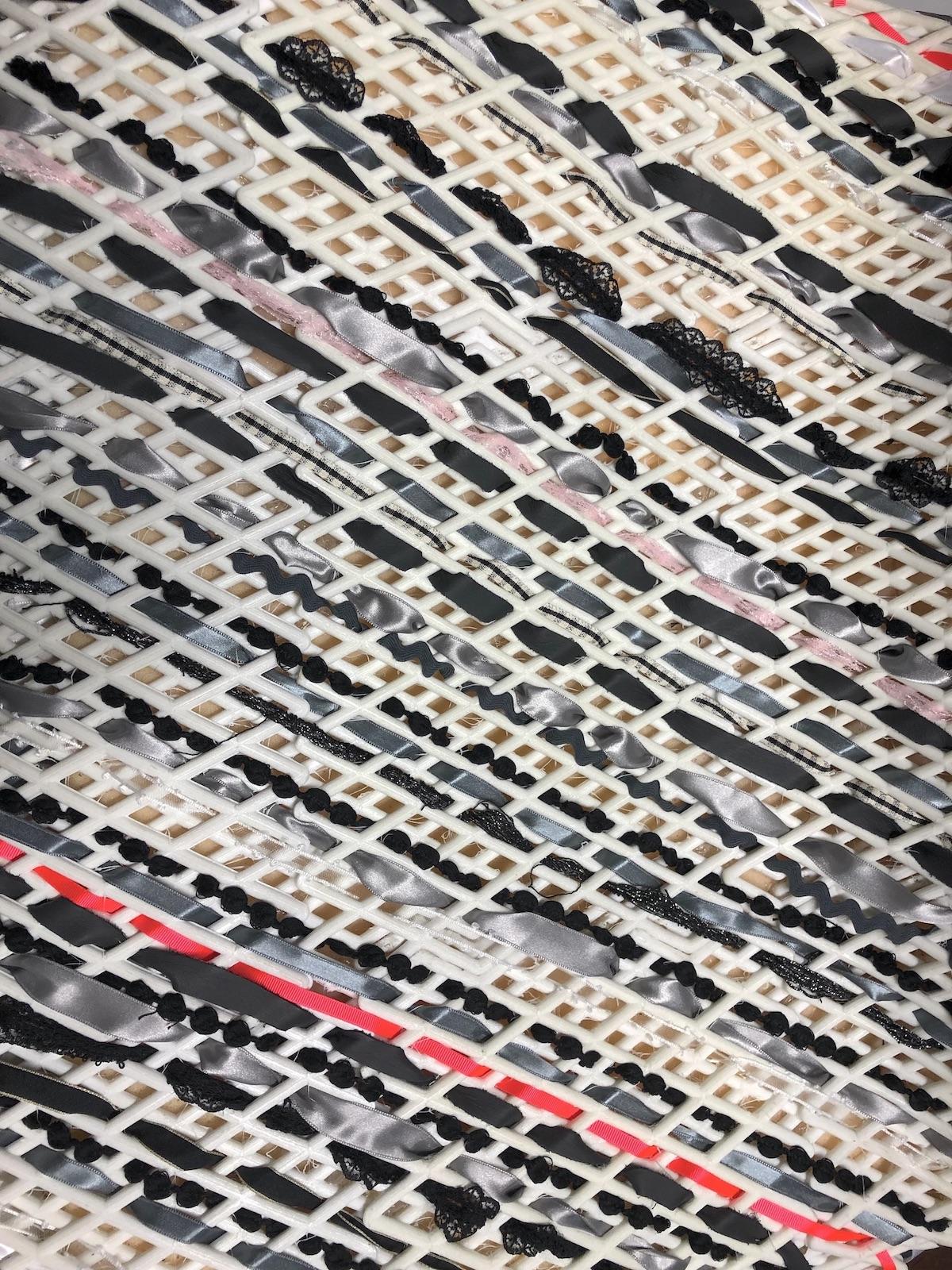 lou st cyr weaving design detail