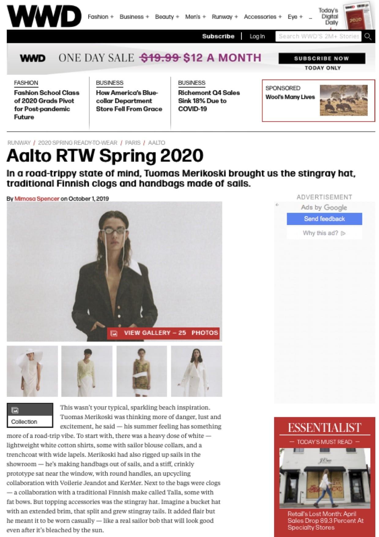 WWD -AALTO voile recyclée validée by KER MER