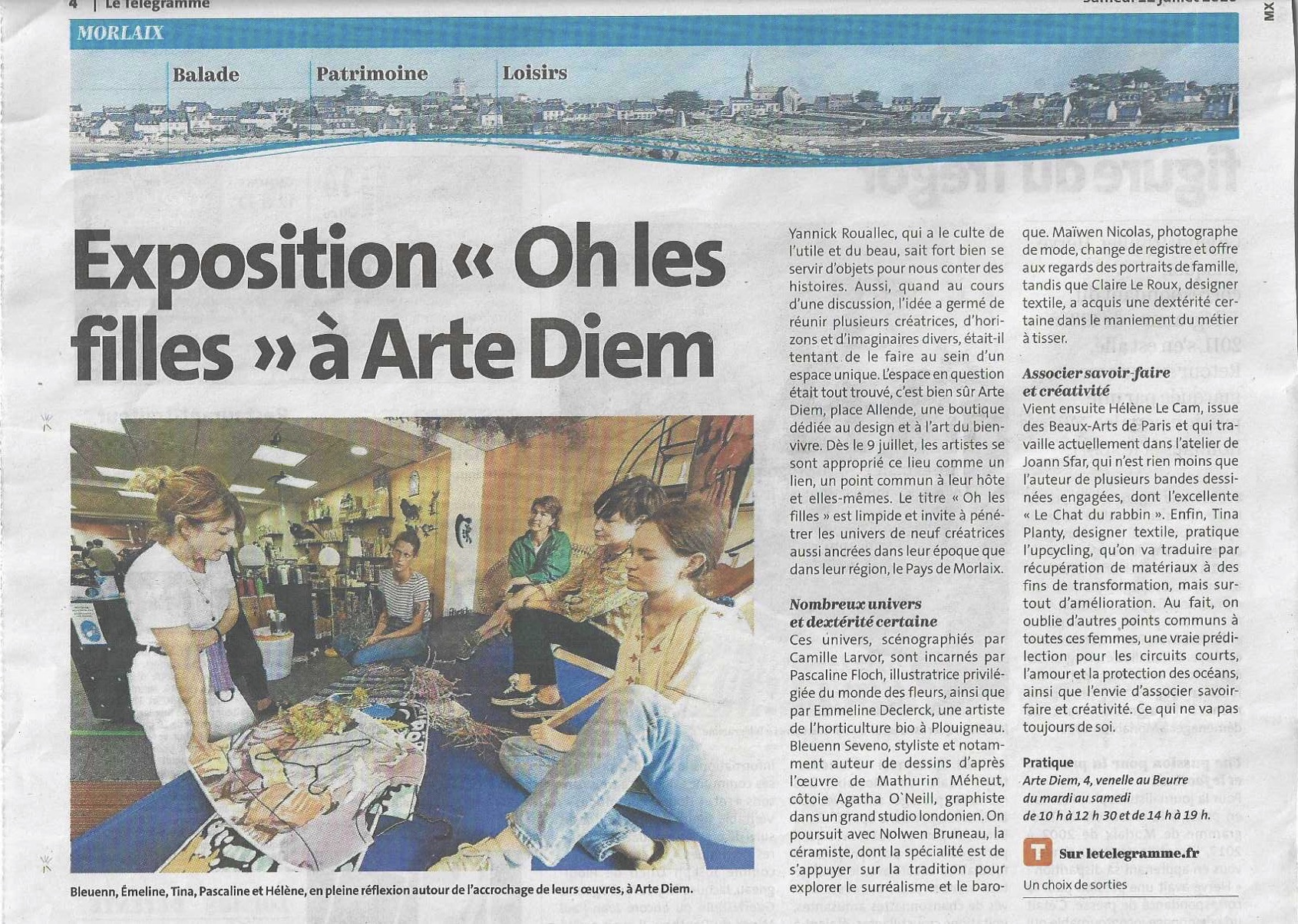 Collaboration KER MER @ ARTE DIEM